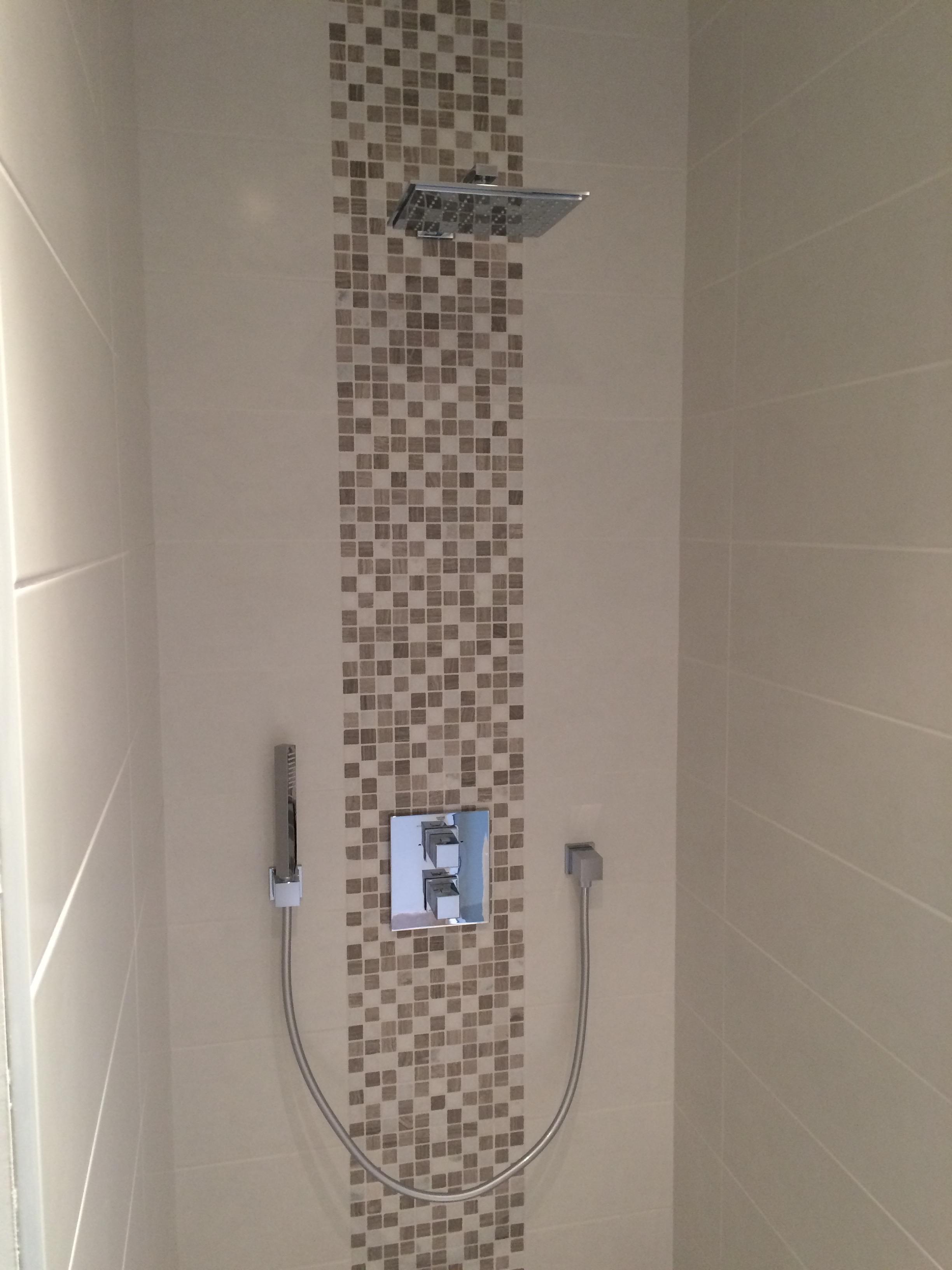 Salle de bains en (35)   ets lemoussu   aménagement et réalisation