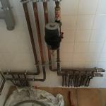collecteur chauffage et eau chaude en cuivre
